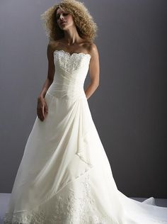 I like the detail of this dress. $239 #wedding