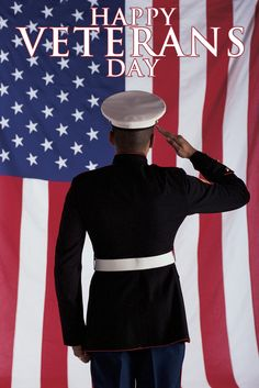 Happy Veterans Day! We Salute You!