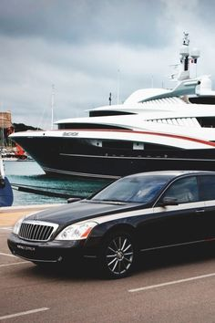 Yacht / Maybach--The MB Maybach is the most beautiful car you will ever encounter. smooth.
