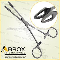 Model Number: Stainless Steel Big Forester Forceps Suitable For Tongue Piercing Great for Piercing Tongues and other body piercings. Professional grade for regular use and autoclaving Length: about 16 cm Size: about 11 x 6 mm Fishing Tools, Jewelry Making Tools, Eyebrow Piercings, Stainless Steel, Number, Model, Big, Eye Brow Piercing