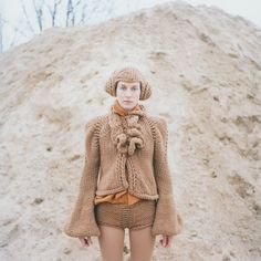 Volupia series, Antje Pugnat, German Knit Artist, Her work is amazing, coolest knit shapes I've ever seen