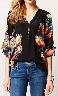 Anthropologie  Talula Popover