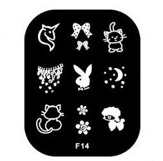 Nails - NAIL ART IMAGE STAMPING PLATE (F-SERIES) for sale in Virginia (ID:218754551)