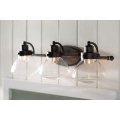 Chilton Palladian Bronze 3-Light Vanity Light