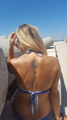 #tattoo#lotusflower#innerstrenght#arrow#sagittarius#💙