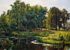 In the park — Ivan Shishkin