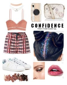 """""""Y not?"""" by myrasaviera on Polyvore featuring F.R.S For Restless Sleepers, Zimmermann, Charlotte Russe, adidas, Kate Spade, Monsoon and L.A. Girl"""