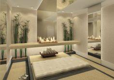 Cuban Interior Design | Suuper relax essa sala. O verde do jardim dá o toque de cor ao ...