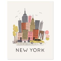 Rifle Paper Co New York City Print