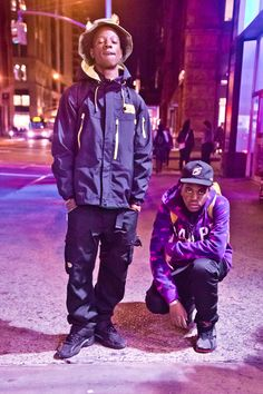 Joey Bada$$ & Kirk Knight Brooklyn NYC