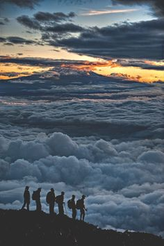 "terracompassum: "" Sunrise on Kilimanjaro - by: Hudson Henry on Pinterest """