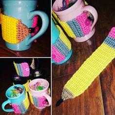 Teacher appreciation week gifts for my girls teachers   #crochet #instacrochet…