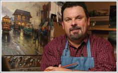 View and Purchase the Works of Thomas Kinkade in Gatlinburg - Thomas Kinkade was one of the most popular painters in the United States. Click the pin to read more!