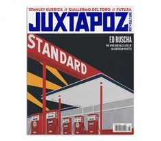 NEW ISSUE JUZTAPOZ #187 AUGUST 2016 PRINT ARRIVED 18.7.16