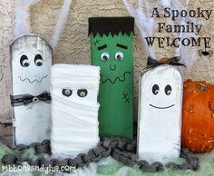 make a spooky family