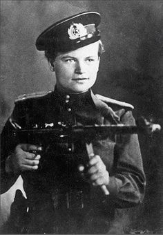 "the-female-soldier:  "" Yevdokiya Zavaliy was a Soviet nurse, soldier and marine commander who fought in World War 2.  Born in 1924, Zavaliy was raised in a small village in the Mykolaiv region of Ukraine, where she worked on a farm. She was brutally..."