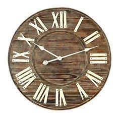 Wisteria - Mirrors & Wall Decor - Shop by Category - Wall Decor - Distressed European Wall Clock Thumbnail 3