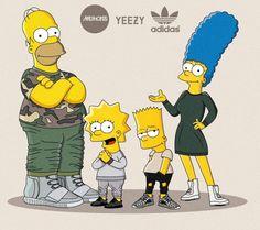 The_Simpsons_Illustrated_as_Sneakerheads_by_Polish_Artist_Olga_Wojcik_2016_09-768x682