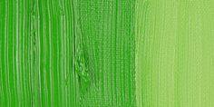 Gamblin oils - Permanent Green Light