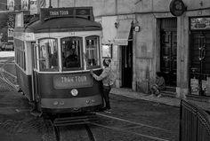 portas do sol tram Slab Doors, Lisbon