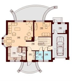 Contemporary Two Storey Home Idea 12