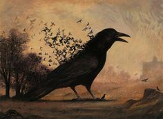 The Birth of The Crow by Bill Mayer - L'Assommoir
