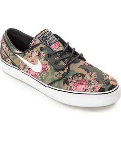 Nike SB Zoom Stefan Janoski PR OG Digi Floral QS Skate Shoes