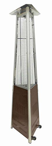 AZ Patio Heaters HLDS01-CGTSS Commercial Stainless Steel Glass Tube Patio Heater #deals