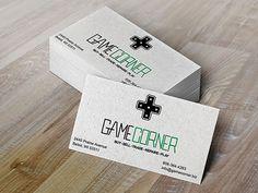 Game Corner Business Card