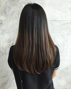 Smooth smooth after hair cut and signature ultrasonic iron treatment Brown Blonde Hair, Dark Hair, Bilage Hair, Long Hair Cuts, Hair Highlights, Hair Looks, Hair Lengths, Hair Inspiration, Hair Beauty