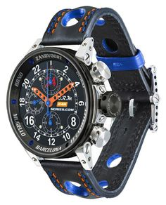 B.R.M. V12-44 24H Series Limited Editions @bonstyle1 www.lefthandwatches.blogspot.com