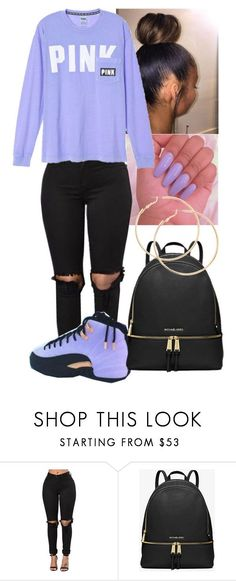 """Untitled #293"" by bebelindaedouard ❤ liked on Polyvore featuring MICHAEL Michael Kors"