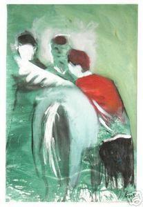 Ignacio Burgos - Caballo Ganador #3 - Signed Painting