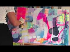 Mettes Maleskole: Undervisningsvideoer i abstrakt maleri - YouTube