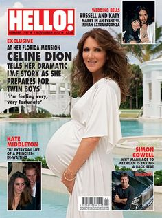 The happy family moments Celine Dion and René Angélil shared exclusively with HELLO! - Photo 2