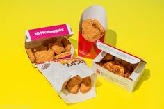 The fast-food greats meet for our chicken-nugget face-off: Burger King, Chick-fil-A, McDonald's, and Wendy's.