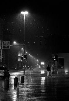 Running In The Rain by AxhellWood