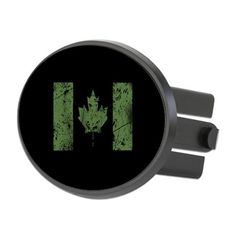 e8a8497e79ef5 Canadian Distressed Flag (Green) Hitch Cover on CafePress.com Military  Gifts