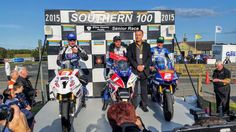 Guy Martin wins the senior race at southern100 on the Isle of Man 2015