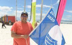 Ten Cape beaches awarded Blue flag status Parks Department, Blue Flag, Environmental Education, Dog Beach, Beach Camping, Us Beaches, City Beach, School Holidays, Lifeguard