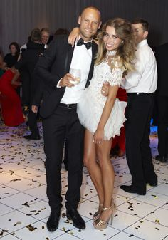 REAL WEDDINGS: NICK & ROSA   J'aton Couture   cocktail dress   short wedding dress   reception dress