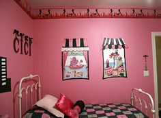 Paris Room Theme www.shariscigliano.com