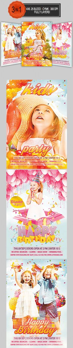 Astral Event Flyer #GraphicRiver Astral Event Flyer Astral Event - kids menu templates