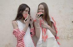 The Decorum // Summer Cuties // Jennifer wearing alice McCALL on the right.