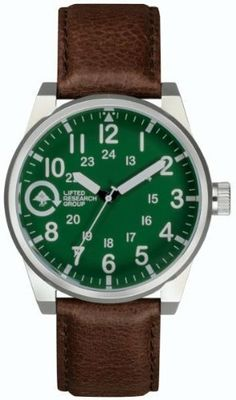 Lifted Timing Field And Research Watch Silver/Green/Dark Brown, One Size LRG. $74.95. A brand-new, unused, and unworn item (including handmade items) in the original packaging (such as the original box or bag) and/or with the original tags attached.. Manufactured by LRG.