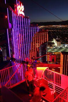 VooDoo Zip Line at Rio Las Vegas.