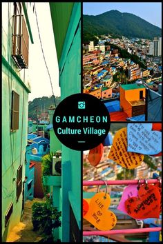 Beautiful, artsy town in Busan, South Korea - Gamcheon Culture Village