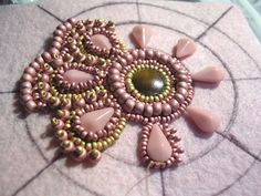 Free Bead Embroidery Patterns | Triz's Beading Mania - Reader Submissions: Show and Tell Your Beading ...
