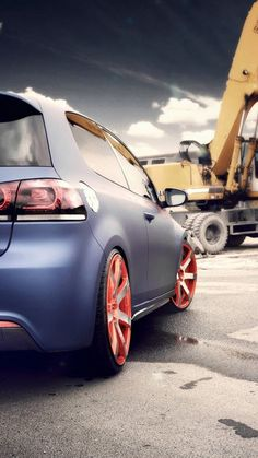 Volkswagen Golf GTI IPhoneWallpaper