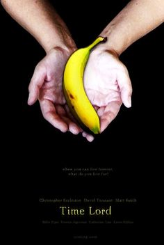 """I would read this!!! """"Don't drop the banana!"""" """"Why?"""" """"Good source of potassium!""""- Ninth Doctor and Captain Jack Darkness, Doctor Who."""